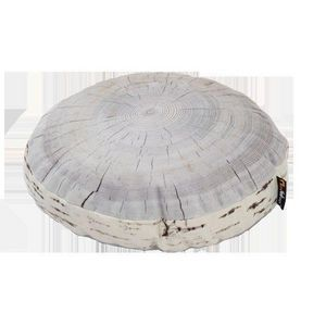 MEROWINGS - birch annual ring cushion - Coussin Rond