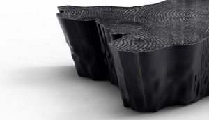 BOCA DO LOBO - eden black - Table Basse Forme Originale