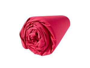 BLANC CERISE - drap housse - percale (80 fils/cm²) - uni - Drap De Lit