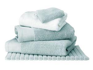 BLANC CERISE - drap de bain c�ladon - coton peign� 600 g/m� - uni - Serviette De Toilette