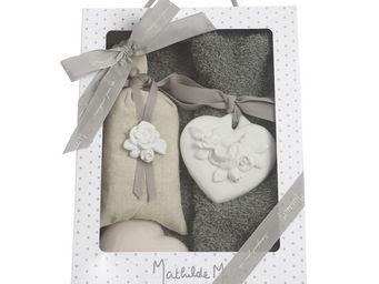 Mathilde M - boîte composée cur rose - Savonnette