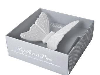 Mathilde M - grand papillon, parfum clair de lune - Décoration De Table