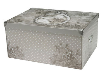 Mathilde M - boîte rectangulaire (gm) ange aux fleurs - Boite De Rangement