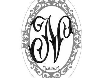 Mathilde M - savon alphabet monogramme n - Savon