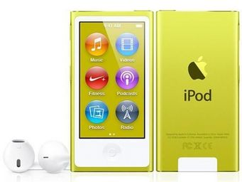 APPLE - ipod nano 16 go jaune (7me gnration) - new - Mp3