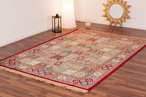 NAZAR - tapis kashmir 70x140 red - Tapis Traditionnel