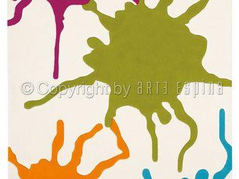 Arte Espina - tapis de petit tapis colour festival multicolor 70 - Tapis Contemporain