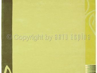 Arte Espina - tapis de salon easy going 3 vert 170x240 en acryli - Tapis Contemporain