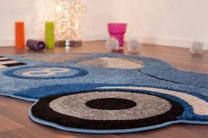 NAZAR - tapis amigo form 100x140 blue - Tapis Enfant