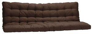 Futon Design - matelas futon chocolat 135 x 190 cm - Matelas Banquette Bz