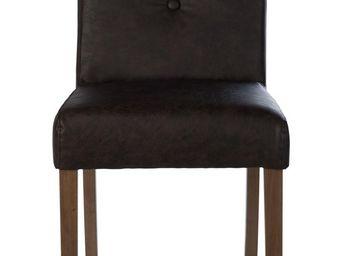 BLANC D'IVOIRE - ella brun - Chaise