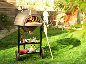 INVICTA - four � pain lo goustaou en fonte 77x98x145cm - Barbecue Au Charbon