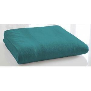 TODAY - serviette de bain unie 90 x 150 cm - couleur - ble - Serviette De Toilette