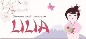 BABY SPHERE - lilia - Plaque De Porte Enfant