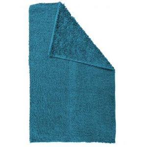 TODAY - tapis salle de bain reversible - couleur - bleu - Tapis De Bain