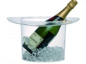 Manta Design - seau à champagne chapeau - couleur - transparent - Seau À Champagne