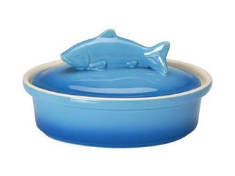 La Chaise Longue - terrine en grès poisson bleu - Terrine