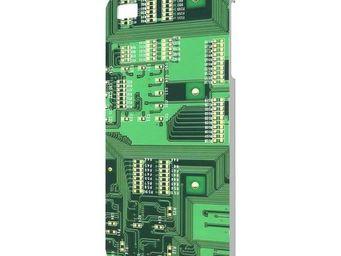 Extreme design - protection iphone 4 circuit imprim� - Coque De T�l�phone Portable