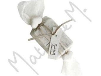 Mathilde M - savon d'invité en papillote senteur poudre de riz - Savon