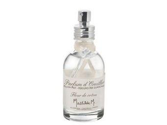 Mathilde M - parfum d'oreiller fleur de coton - 50 ml - mathil - Brume D'oreiller