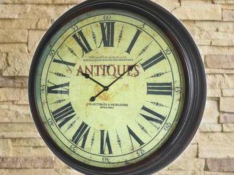 L'HERITIER DU TEMPS - horloge murale style industriel ø93 cm - Horloge Murale