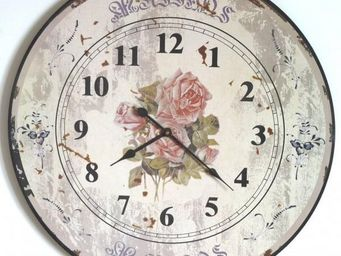 L'HERITIER DU TEMPS - horloge murale en bois ø60cm - Horloge Murale