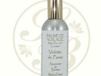 Savonnerie De Bormes - brume de voilage - violette de parme - 100 ml - sa - Parfum D'intérieur