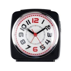 La Chaise Longue - réveil boston noir - Réveil Matin