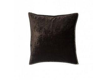 BLANC D'IVOIRE - julia chocolat - Coussin Carr�