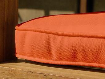 BELIANI - meubles en bois / teck - Coussin De Siège De Jardin