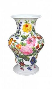 Demeure et Jardin - grand vase fleuri - Vase Décoratif