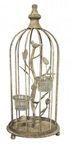 Demeure et Jardin - photophore cage - Photophore