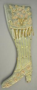 Demeure et Jardin - botte décorative satin vert - Vase Décoratif