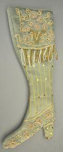 Demeure et Jardin - botte d�corative satin vert - Vase D�coratif