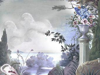 Ananbô - le jardin de portobello couleur - Papier Peint Panoramique