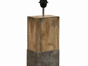 Interior's - pied de lampe empreinte - Pied De Lampe