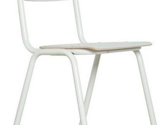 ZUIVER - chaise zuiver back to school blanches - Chaise