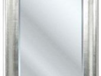 WHITE LABEL - miroir beauty argenté - Miroir