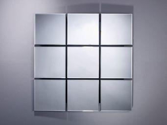 WHITE LABEL - sowhat miroir mural en verre - Miroir