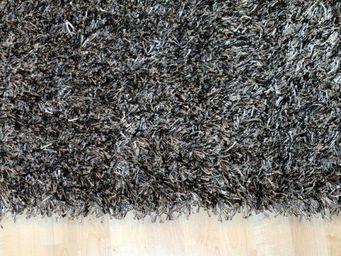 WHITE LABEL - feeling tapis épais gris foncé - 120x180 cm - Tapis Contemporain