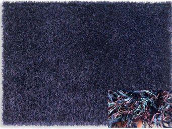 WHITE LABEL - feeling tapis épais bleu mauve 120x180 cm - Tapis Contemporain