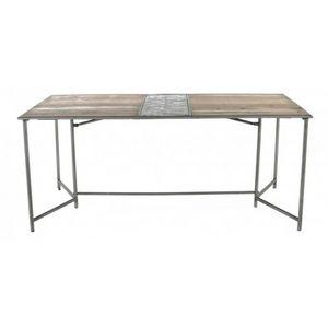 DECO PRIVE - réf : kleo-tr180 - Table De Repas Rectangulaire
