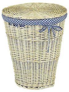 Aubry-Gaspard - corbeille à linge avec couvercle - Panier À Linge