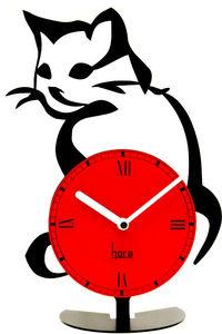 HORA - horloge à poser look@cat - Horloge Murale