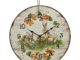 Interior's - horloge jardin - Horloge Murale