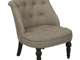 Interior's - fauteuil bastien chevron - Fauteuil Bas