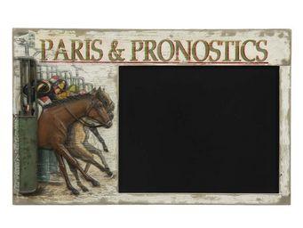 Interior's - menu paris et pronostics - Ardoise Murale