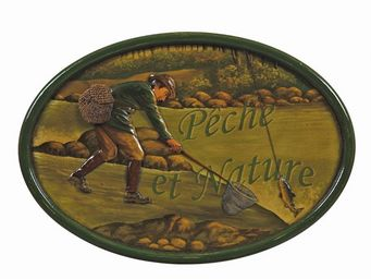 Interior's - enseigne pêche et nature - Décoration Murale