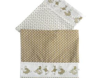 Interior's - drap lapins et souris - Drap De Lit