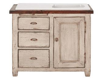 Interior's - evier 1 bac pour meuble bmv1 - Evier À Encastrer